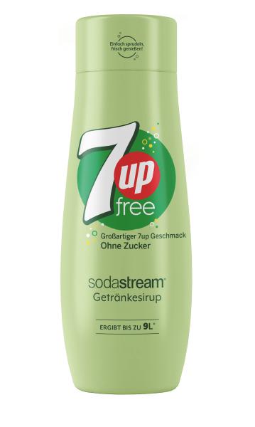 SodaStream Sirup 7up zero, 440ml
