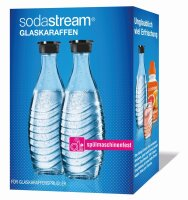 SodaStream Glaskaraffen - 0,8 L, 2er-Pack